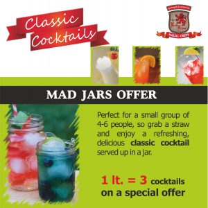 classic cocktails in jars, Malia