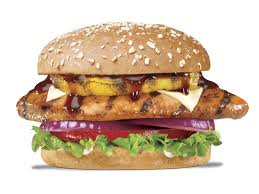 B.B.Q. CHICKEN BURGER
